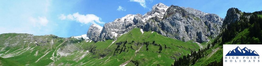 walking holiday in mountains french alps trek lake geneva to Chamonix GR5